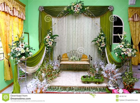 Wedding Stage Stock Photo Image: 48185740