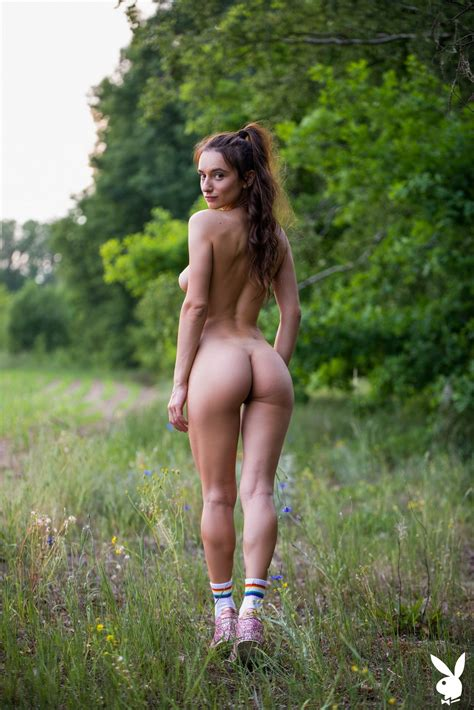 Nude chicks in nature