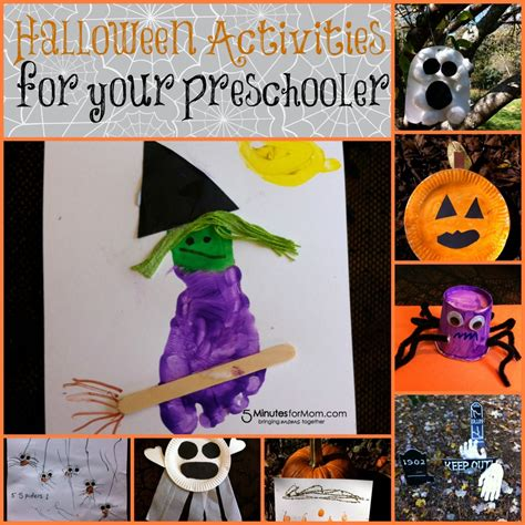 activities for your preschooler and toddler 786 | Halloween Activities 1024x1024