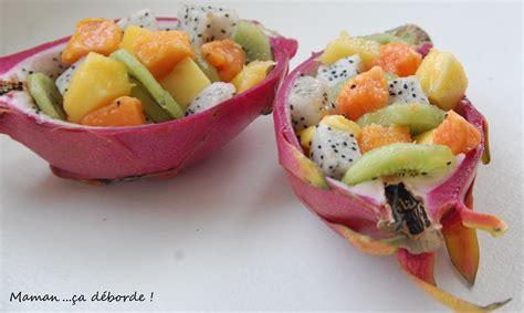 un roux en cuisine salade de fruits exotiques maman ça déborde