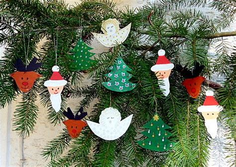 Profissimo Fensterdekoration Weihnachten by Weihnachten Basteln Christbaumschmuck Pappe Basteln