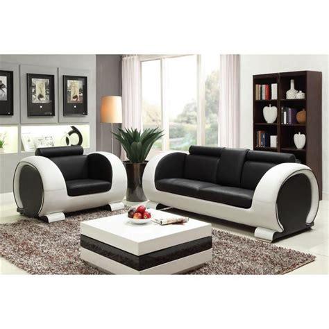 canapé noir et blanc design photos canapé noir et blanc