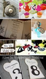 Alice in Wonderland Wedding Decorations