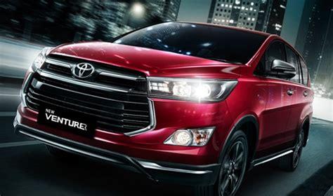 Review Toyota Venturer by Harga New Toyota Venturer 2019 Review Dan Spesifikasi