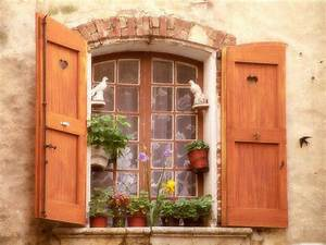 A, Cottage, Window, In, France