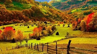 Fall Desktop Wallpapers 4k Foliage Farm Background
