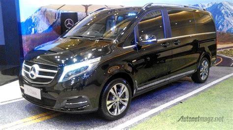 Gambar Mobil Mercedes V Class by Spesifikasi Mercedes V Class Spek Autonetmagz