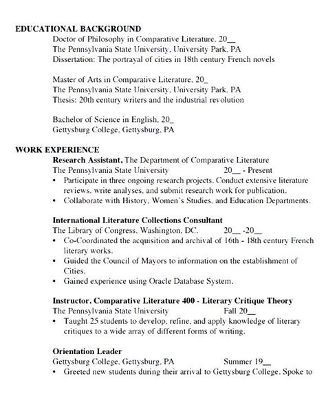 14899 student resume template word student cv template word free sles exles