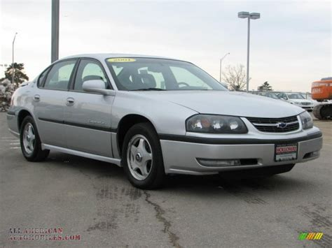 gold and silver ls 2001 chevrolet impala ls in galaxy silver metallic photo