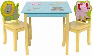Kindermöbel Tisch Und Stühle : kinder sitzgruppe mit kindertisch tisch und 2 st hlen stuhl ebay ~ Indierocktalk.com Haus und Dekorationen
