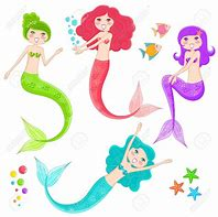 Image result for mermaids clipart