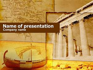 Classic ancient greece presentation template for for Ancient greece powerpoint template