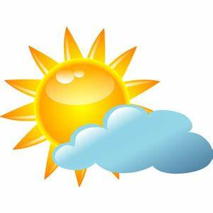 Mostly Sunny Clipart