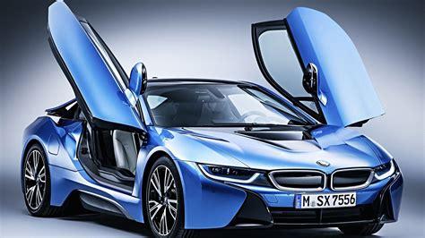 bmw supercar blue bmw i8 hybrid supercar wallpapers for desktop 1920x1080