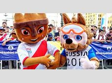 Perú vs Islandia Milco, mascota de Lima 2019, se juntó