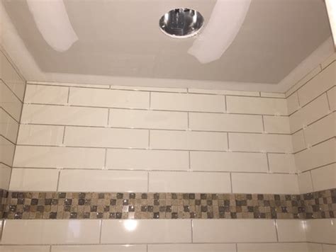 shower walls  square