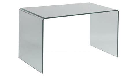 but bureau verre bureau en verre trempé courbé bureau design