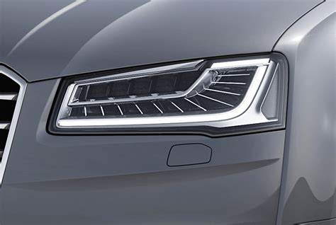 audi matrix headlights new matrix led technology available for audi a8