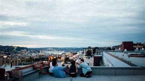 Rooftop Bar In Budapest