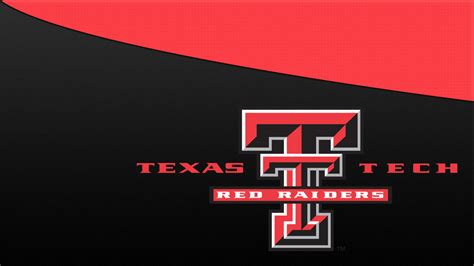 texas tech red raiders logo  wallpaper