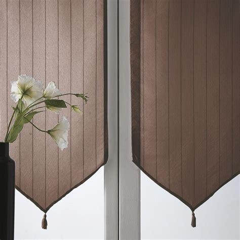 voilage fenetre chambre voilage panama brun chocolat en polyester photo 10 10