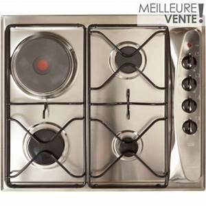 Plaque De Cuisson Mixte Gaz Electrique : table de cuisson vos achats sur boulanger ~ Melissatoandfro.com Idées de Décoration