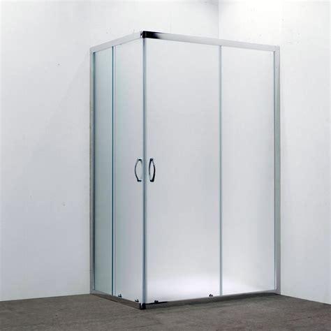 box doccia prezzi 70x90 box doccia rettangolare 70x90 in cristallo da 6 mm opaco