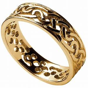 celtic ring ladies filigree celtic wedding band at With ladies celtic wedding rings