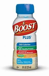 Amazon Com   Boost Plus Vanilla Ready To Drink  Pack Of 12 8 Fl Oz  237ml  Bottles  Net 3 Qt  2