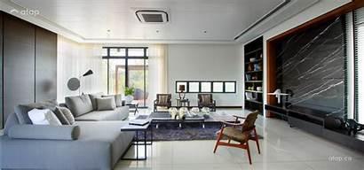 Living Modern Designs Spacious Malaysia Interior Contemporary
