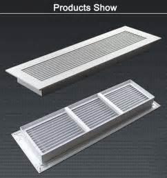 hvac heater furnace register cover aluminum brass floor