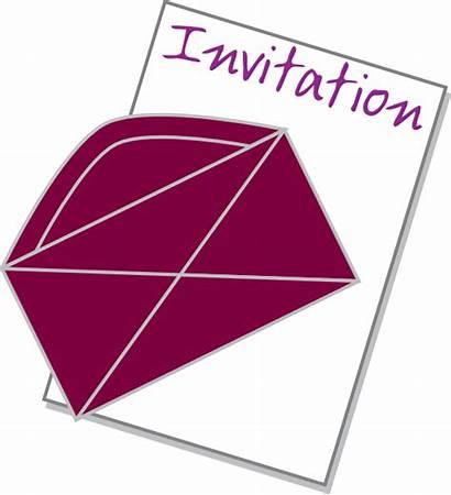Invitation Clipart Clip Invited Cliparts Vector Freeuse