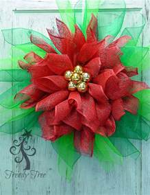 poinsettia wreath tutorial trendy tree