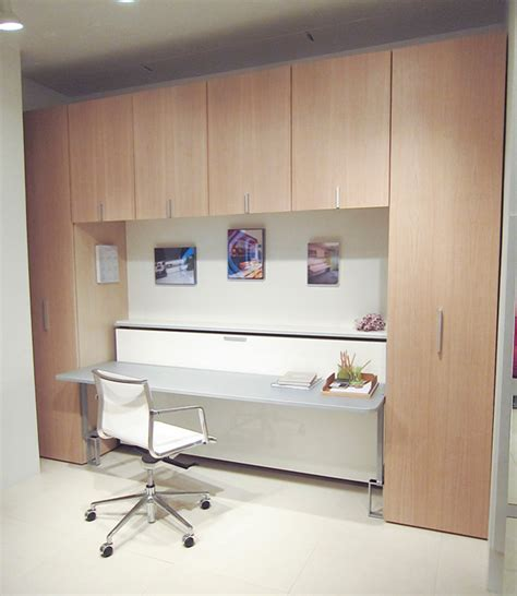twin murphy bed with desk bed desk combos save space and add interest to small rooms