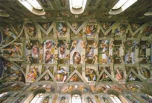 the sistine chapel ceiling Michelangelo Buonarroti ...