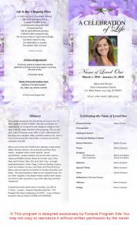 funeral programs online best photos of template of funeral program free sle