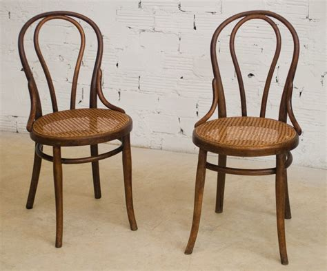 chaises thonet chaise bistrot ancienne authentique