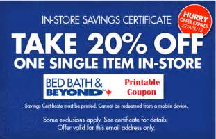 Bed Bath And Beyond Online Coupon Code Gallery