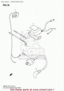 Suzuki Rm85  L  Usa  Cdi Unit - Ignition Coil