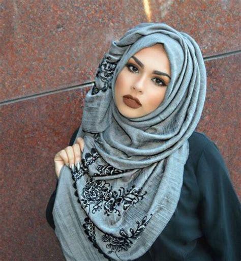 modern hijab styles fashion   winter outfits