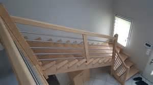 Escalier Sans Contremarche Quart Tournant by Escalier Sur Mesure Seine Maritime Fabricant Escalier