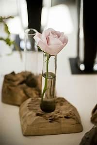Rose Aus Holz : kreative ideen zum selbermachen originelle vasen aus baumst mpfen ostern pinterest ~ Eleganceandgraceweddings.com Haus und Dekorationen