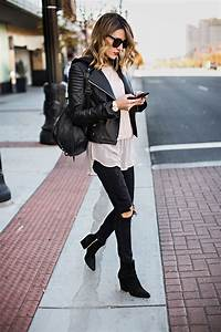 50 Incredible Outfits With Black Jeans For The Fashion-Minded Woman - Just The Design