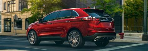 ford edge lineup exterior color option gallery