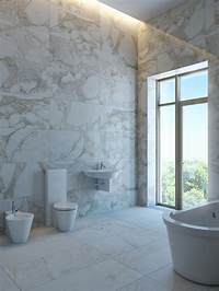 marble tile bathroom Marble vs. Travertine Tiles: What's the Difference?