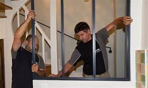 Comment Fabriquer Une Verriere En Acier : faire installer et poser une verri re cloison vitr e atelier d 39 artiste par un professionnel ~ Voncanada.com Idées de Décoration
