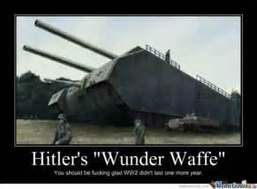 hitler wunder waffe ww2 tank huge drawring memes best