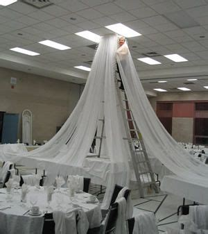 How To Hang Ceiling Drapes For Events - 6 panel 21ft ceiling draping kit 44 wide event