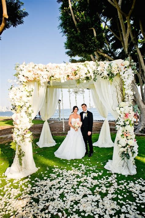 stunning floral san diego wedding modwedding
