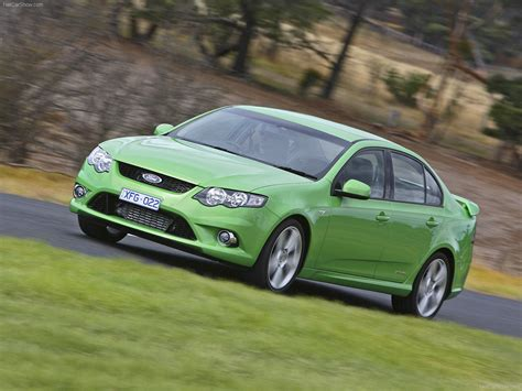 2008 Ford Falcon Xr6 Turbo Automatic Fg Related Infomation